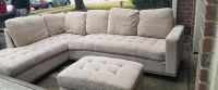 Sectional and Ottoman By Abbyson Living