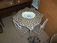 Childs Table with Two Chairs