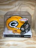 NFL Mini Green Bay Packers Riddle Collectors Helmet