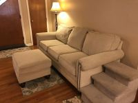 Couch and Chair with 2 Ottomans