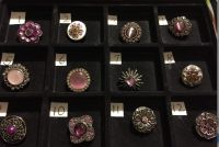 NEW, SNAPS FOR INTERCHANGEABLE JEWELRY, FITS GINGERSNAPS BRAND, PURPLES / MULTI