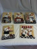 Ceramic Kitchen decor set of 5 reduced