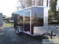 x Single Axle Enclosed Cargo Trailer - BLK ()