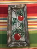 New hand painted wall or table Christmas decor $12.00 obo.