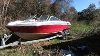 2001fourwins....302cobra inbourd...for trad ..looking for rv,or nice pop up trailer