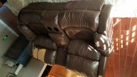 Double recliner loveseat