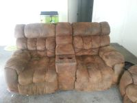 Reclining Microfiber Couches