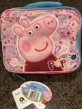NWT Adorable Peppa pig lunch box!