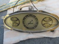 Purchase 1933 plymouth delxue speedometer instrument cluster scta rat rod hot ratrod motorcycle in Hayden, Idaho, United States