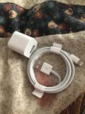 Apple IPhone Cord & Charging Block