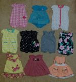 6-9 Month Rompers & Dresses