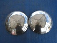 Purchase SET OF 2 USED 1947- 1953 CHEVROLET CHEVY TRUCK HUBCAPS DOG DISH CHROME SF3 motorcycle in Philadelphia, Pennsylvania, US, for US $60.00