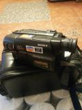 Sony. Video camera from the late 90s in very very good condition