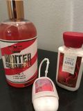 Bath and Body Works winter Candy Apple set