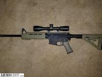 For Sale: S&W M&P 15 AR W/Nixon P223 Scope