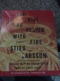 The Girl Who Played with Fire CD Audiobook Larsson