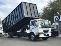 2009 Nissan UD 26FT RUGBY DUMP TRUCK 2600 (White)