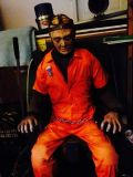 HALLOWEEN HAUNTED HOUSE MAN IN ELECTRIC CHAIR