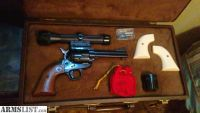 For Sale/Trade: Ruger 3-screw old model, conv, 4 5/8,with phantom scope and hardc