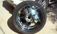 $400, 22 rims with tires for sale