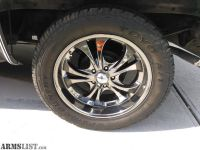 "For Sale/Trade: 20"" Chrome Boss 304 Rims & Toyo A/T 285/50R20 Tires"