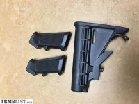 For Sale: x2 AR15 Grips & Butt Stock