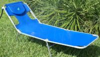 Misting Lounge Chair- Get a natural tan faster  COOLER
