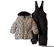 Brand new girl's 12 mo Snow jacket & bibs $$$