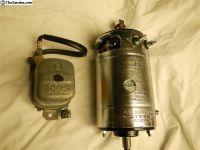 Reman 6V 105mm Ger Bosch Generator+NOS regulator