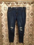 Old Navy Rock Star Distressed Jeans Size 18