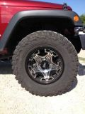 Must have Set of Mud Tires 35 with 18 Skull Rims New