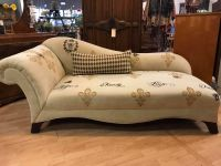 Family Farmhouse Bee Chaise Sofa Feinting couch hand painted by Panther Creek