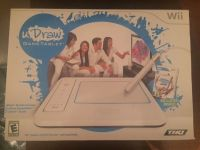 Like New Wii Draw Game Tablet