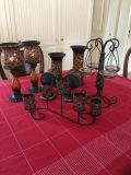 Beautiful candleholders-Partylite Global Fusion