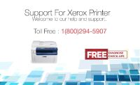 Xerox Printer Support TollFree 1-800-294-5907