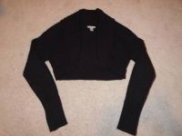 Black knit bolero sweater