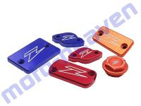 Purchase '07-15 WR250R WR250X WR250 R X ZETA FRONT Brake Reservoir Cover RED ZE86-1503 motorcycle in Sugar Grove, Pennsylvania, United States, for US $24.95