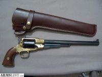 For Sale/Trade: Pietta Brass Frame 44cal 1858 Remington New Army Buffalo Revolver, used