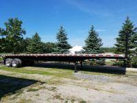 $17,900, 1998 Dorsey 45039 SteelAluminum Combo Flatbed Moffett Trailer
