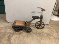 Wooden Kid's Tricycle & Wagon