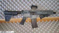 For Sale: AR-15 223/556 Aero Precision pistol with CNC 4lb trgger