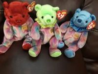 TY July, August & Sept beanie babies