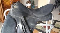 Wintec Pro Dressage saddle w cover, 2 girths, stand, cushion
