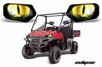 Purchase AMR Racing Headlight Eye Graphic Decals Light Cover Polaris Ranger 09-14 ECLIPSE motorcycle in Las Vegas, Nevada, United States, for US $18.95