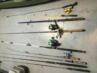 Lot of fishing rods *cheap*