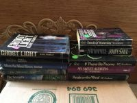 10 paperback and hardcover books