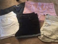 5 pair shorts size 22-24 all fit same