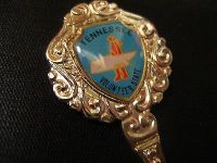Tennessee volunteer usa state collector souvenir spoon travel