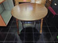 Large Table*All Wood*2 leaf*Heavy Duty