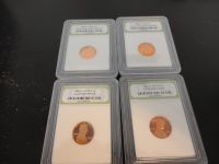 1982 s 1983s, 1985 p 1988p lincoln cents
